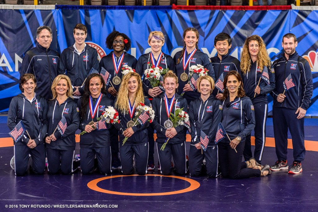 2016 USA Olympic Women's Wrestling Team