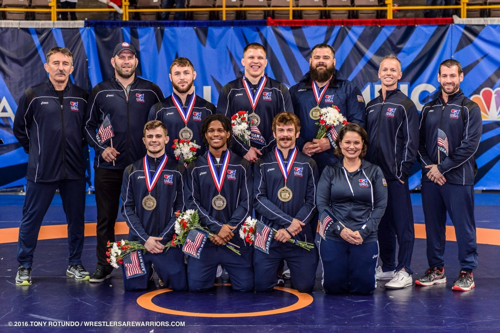 2016 USA Olympic Greco-Roman Wrestling Team