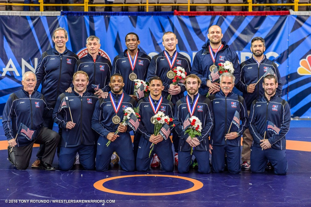 2016 USA Olympic Freestyle Wrestling Team