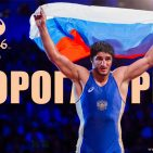 The Olympic Russia Wrestling National Team Rooster Olympic Games in Rio 2016