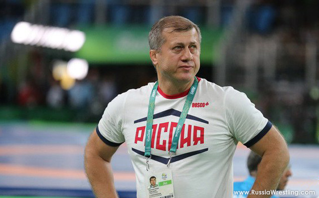 Russia Wrestling Head Coach Tedeev Interview
