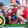 Amazing Comeback during the Bronze Final Wrestling match