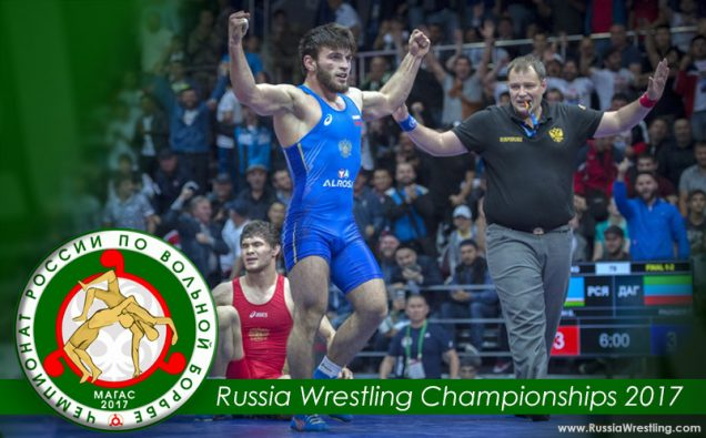 Russia Wrestling Championships 2017 Results