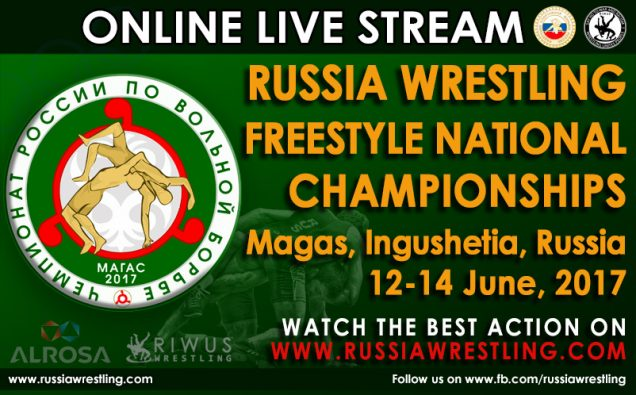 Russia Freestyle Wrestling Championship 2017