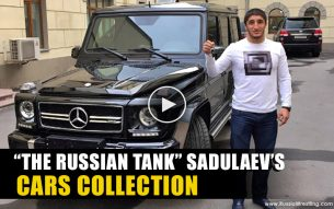 What does Russian Olympic Champion Abdulrashid Sadulaev drive?